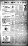 Holland City News, Volume 26, Number 11: April 3, 1897