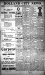 Holland City News, Volume 26, Number 18: May 22, 1897