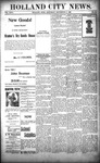 Holland City News, Volume 26, Number 34: September 11, 1897 by Holland City News