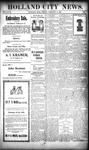 Holland City News, Volume 27, Number 5: February 18, 1898