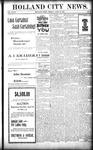 Holland City News, Volume 27, Number 15: April 29, 1898