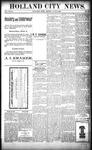 Holland City News, Volume 27, Number 20: June 3, 1898