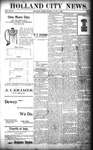 Holland City News, Volume 27, Number 22: June 17, 1898