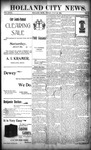Holland City News, Volume 27, Number 27: July 22, 1898 by Holland City News