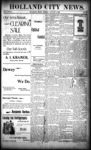 Holland City News, Volume 27, Number 29: August 5, 1898