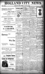 Holland City News, Volume 27, Number 30: August 12, 1898 by Holland City News