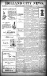 Holland City News, Volume 27, Number 34: September 9, 1898 by Holland City News