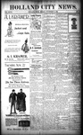 Holland City News, Volume 27, Number 44: November 18, 1898 by Holland City News