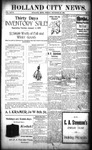 Holland City News, Volume 27, Number 50: December 30, 1898 by Holland City News