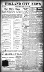 Holland City News, Volume 27, Number 51: January 6, 1899
