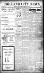 Holland City News, Volume 28, Number 6: February 24, 1899
