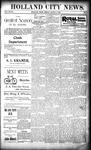 Holland City News, Volume 28, Number 9: March 17, 1899