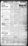 Holland City News, Volume 28, Number 10: March 24, 1899