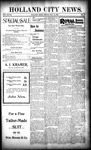 Holland City News, Volume 28, Number 17: May 12, 1899