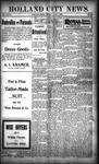 Holland City News, Volume 28, Number 22: June 16, 1899