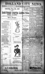 Holland City News, Volume 28, Number 28: July 28, 1899