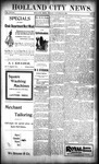 Holland City News, Volume 28, Number 40: October 20, 1899