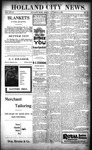 Holland City News, Volume 28, Number 42: November 3, 1899