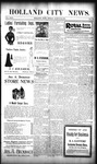 Holland City News, Volume 29, Number 10: March 23, 1900