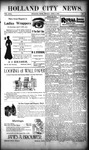 Holland City News, Volume 29, Number 12: April 6, 1900