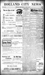 Holland City News, Volume 29, Number 13: April 13, 1900