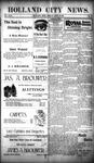 Holland City News, Volume 29, Number 15: April 27, 1900