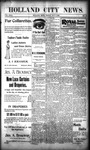 Holland City News, Volume 29, Number 16: May 4, 1900