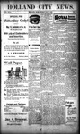 Holland City News, Volume 29, Number 17: May 11, 1900