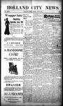 Holland City News, Volume 29, Number 21: June 8, 1900