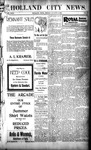 Holland City News, Volume 29, Number 30: August 10, 1900 by Holland City News