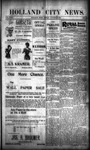 Holland City News, Volume 29, Number 33: August 31, 1900 by Holland City News