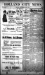 Holland City News, Volume 29, Number 34: September 7, 1900 by Holland City News