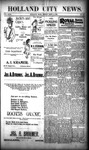 Holland City News, Volume 29, Number 35: September 14, 1900 by Holland City News