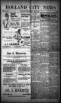 Holland City News, Volume 29, Number 38: October 5, 1900