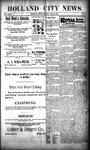 Holland City News, Volume 29, Number 41: October 26, 1900 by Holland City News