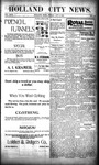 Holland City News, Volume 29, Number 42: November 2, 1900 by Holland City News