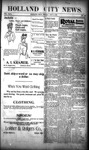 Holland City News, Volume 29, Number 43: November 9, 1900 by Holland City News