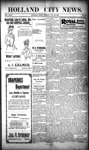 Holland City News, Volume 29, Number 45: November 23, 1900 by Holland City News