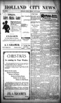 Holland City News, Volume 29, Number 46: November 30, 1900 by Holland City News