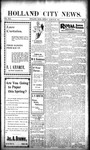 Holland City News, Volume 30, Number 10: March 22, 1901