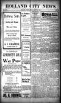 Holland City News, Volume 30, Number 23: June 21, 1901