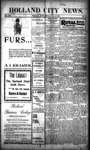 Holland City News, Volume 30, Number 31: August 16, 1901 by Holland City News
