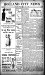 Holland City News, Volume 30, Number 38: October 4, 1901 by Holland City News