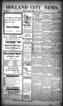 Holland City News, Volume 30, Number 51: January 3, 1902