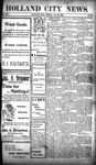 Holland City News, Volume 31, Number 20: May 30, 1902