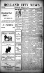 Holland City News, Volume 31, Number 25: July 4, 1902