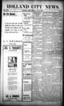 Holland City News, Volume 31, Number 33: August 29, 1902