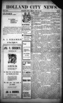 Holland City News, Volume 31, Number 35: September 12, 1902 by Holland City News