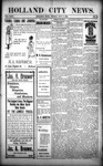 Holland City News, Volume 31, Number 43: November 7, 1902 by Holland City News