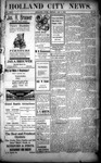 Holland City News, Volume 31, Number 52: January 9, 1903